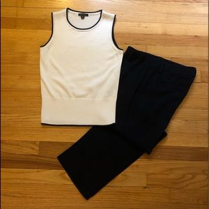 Brooks Brothers Cotton Sleeveless Sweater Shell